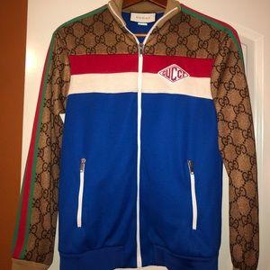 0e7f2a130c4e Gucci Track Jacket in GG print technical jersey.